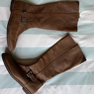 Cole Haan Leather Riding Boots Size 9.5